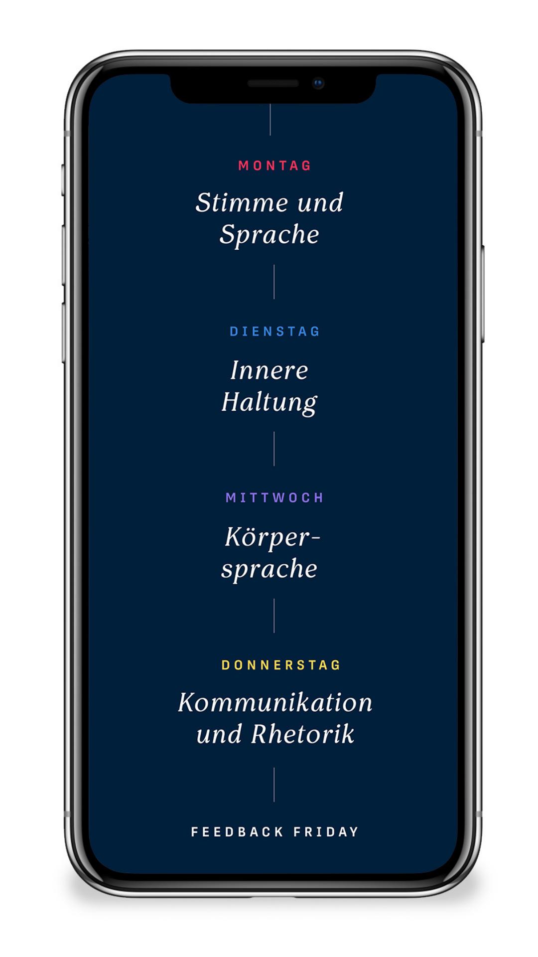 Ada App Kategorien
